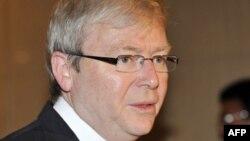 Aвстралискиот министер за надворешни работи Кевин Руд.