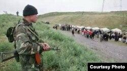 Қырғыз шекарашысы (Көрнекі сурет).
