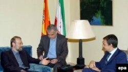 Испанского премьера (справа) с некоторых пор подозревают в антиизраильской позиции