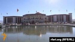 Ооганстан парламентинин жаңы имараты, 25-декабрь, 2015-жыл.