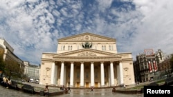 Russia's world-famous Bolshoi Theater has been dogged by scandals and controversy in recent years. (file photo)