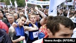 Белград 16 април - протести на опозицијата