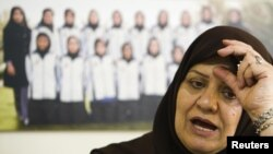 Farideh Shojaei is vice president of the Islamic Republic of Iran Football Federation (IRIFF) for women's affairs
