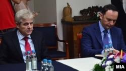Али Ахмети и Бујар Османи