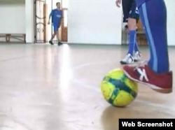 Trening fudbalske reprezentacije beskućnika BiH