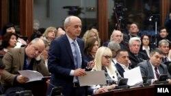 Јавна расправа за предлог законот за јавно обвинителство во Собранието.