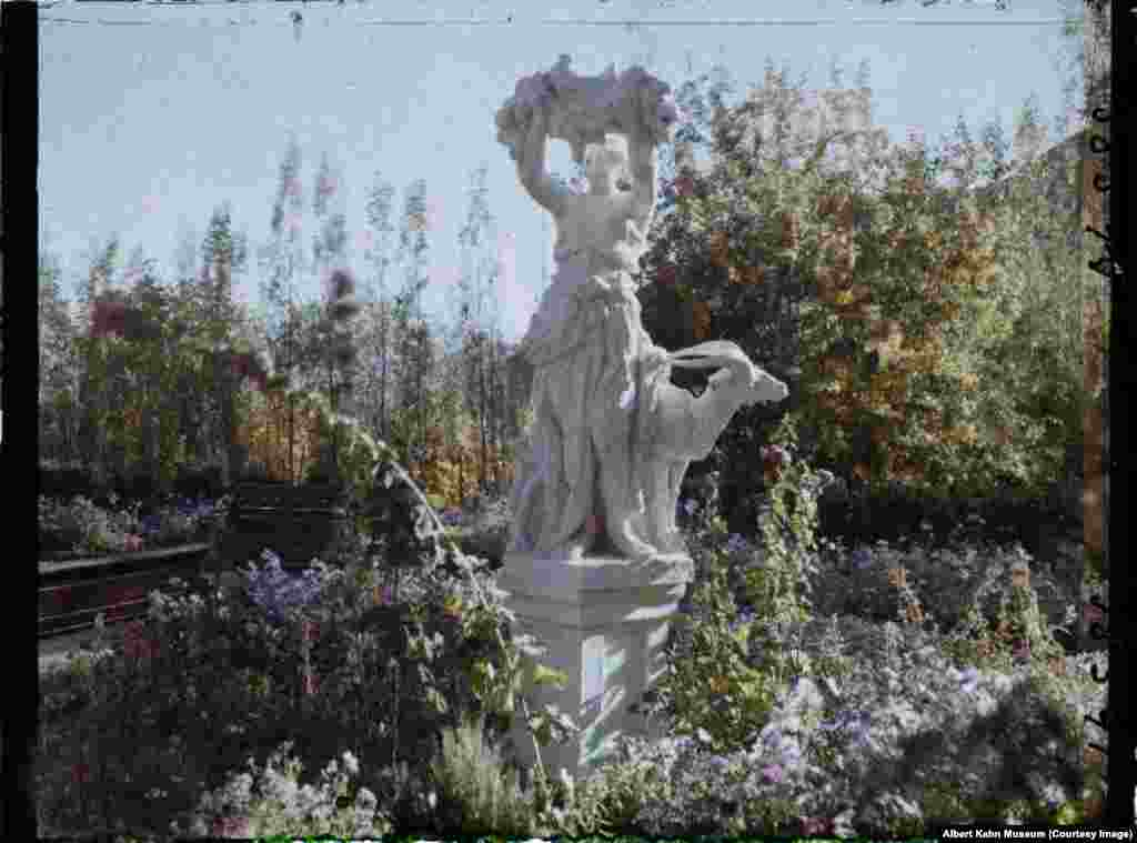 Springtime in a garden near Kabul. In the 1920s, Afghanistan was a newly independent country after breaking away from the British Empire. For most of the decade, it was ruled by Amanullah Khan, a secular reformist who sought to modernize the country along Western lines.