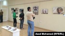 معرض صور فوتوغرافية في السليمانية عن معاناة اهالي سنجار