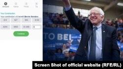 بخش عمده کمکهای مالی ستاد تبلیغاتی برنی سندرز از طریق پرداختهای آنلاین به دست آمدهاند که مردم عادی در وب سایت او پرداخت کردهاند.