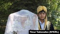 Жених и невеста. Иллюстративное фото.
