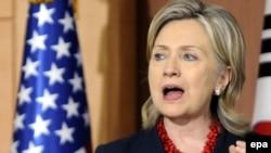 U.S. Secretary of State Hillary Clinton (file photo)