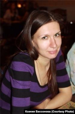 Ксения Бессонова - активист микрорайона