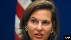 U.S. State Department spokesperson Victoria Nuland wouldn't be budged.