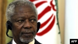 UN-Arab League envoy for the crisis in Syria, Kofi Annan