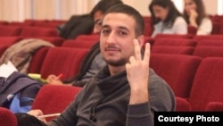 Azerbaijani opposition activist Bayram Mammadov (file photo)