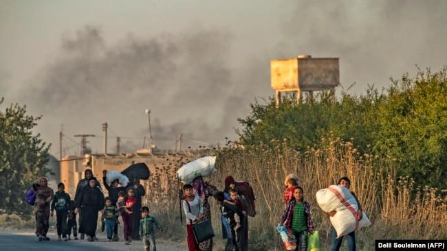 Civili napuštaju sever Sirije