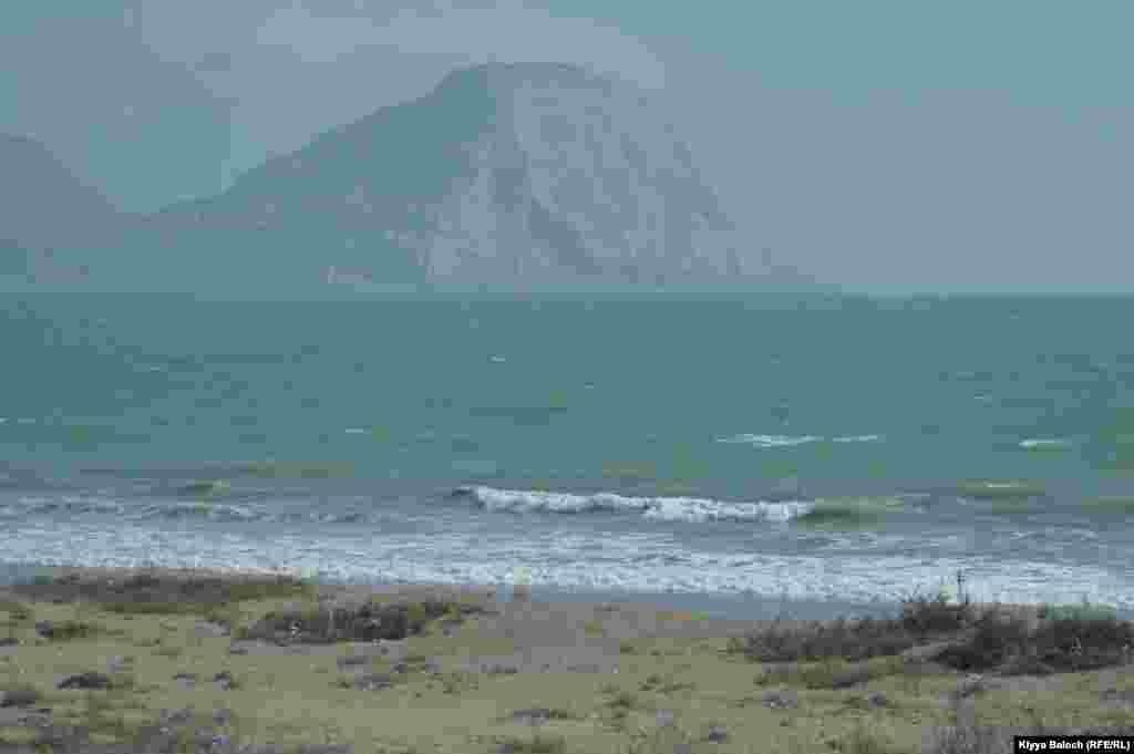 Ormara, a small town on Makran coast houses an important Pakistani naval base.