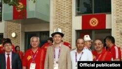Представительская делегация КР на XXX Олимпийских Играх, Лондон, 26 июля 2012 года.