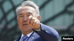 "Kazakh President Nursultan Nazarbaev: ""Propagating violence and evil."""