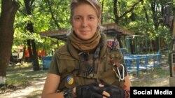 Волонтер-медик, начальника медичного батальйону «Госпітальєри» Яна Зінкевич