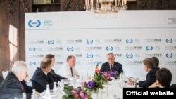 Președintele Igor Dodon la o reuniune în margiginea Conferinței de Securitate de la München