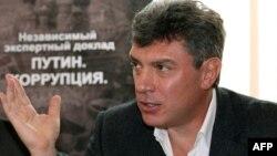 Ресейдің оппозицияшыл саясаткері Борис Немцов.