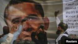 Анти-америкалык кыйкырыктар менен коштолгон соңку нааразылык жума күнү Куэтта шаарынан башталган, 6-июль, 2012