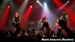 Metallica is hugely popular in Romania.