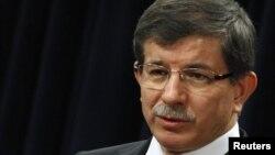 احمد داوداوغلو، وزیر خارجه ترکیه.