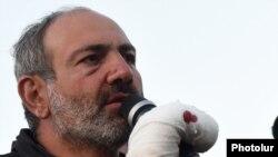 Никол Пашинян, Ереван, 16 апреля 2018 г.