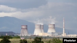 A general view of the Metsamor nuclear power plant in Armenia