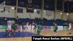 جانب من مباريات بطولة غرب آسيا بكرة السلة في عمّان
