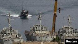 بندر اشدود - کشتی ترکیهای با نظارت اسرائیل در این بندر تخلیه و بررسی خواهد شد