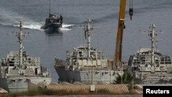 Ushtrimet e luftanijeve izraelite në portin Ashdod