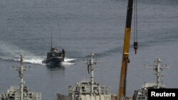 Nave militare israeliene în portul Ashdod