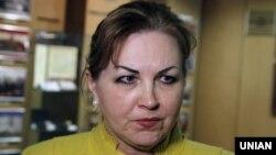 Голова Конституційного суду України Наталя Шаптала, фото 2015 року