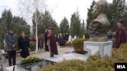 Одбележување на осумгодишнината од смртта на претседателот Борис Трајковски во Скопје