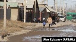 Бишкек четиндеги жаңы конуштардын көбүндө ички мигранттар жашайт