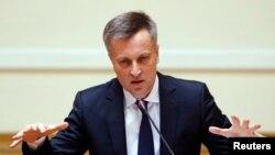 Глава Совета безопасности Украины Валентин Наливайченко. Киев, 3 апреля 2014 года.