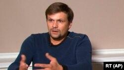 «Руслан Боширов», який, за даними журналістських розслідувань, є полковником Анатолієм Чепігою