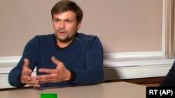 «Руслан Боширов», который по данным расследования Bellingcat является полковником ГРУ Анатолием Чепигой