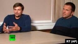 """""""Боширов"""" и """"Петров"""" во время интервью Маргарите Симоньян"""