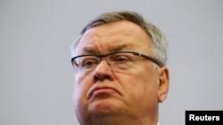 Андрей Костин , глава российского ВТБ Банка.