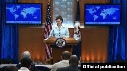 США - Пресс-секретарь Госдепартамента США Виктория Нуланд (архивная фотография)