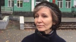 Yulia Razina says she understands why her husband killed himself.