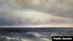 Иван Айвазовский. Черное море. 1881 год
