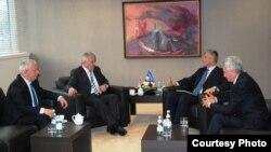 Kryeministri i Kosovës, Hashim Thaci takon liderët e Luginës së Preshevës, 15 janar, 2013