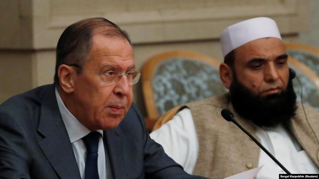 Сергей Лавров принял в Москве представителей запрещенного Талибана