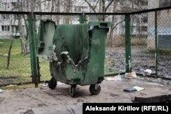 Сгоревший новгородский бак