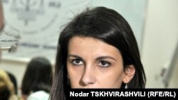 Председатель Ассоциации молодых юристов Грузии Тамар Чугошвили